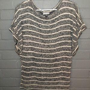 Striped dolman top
